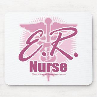 ER Nurse Pink Mouse Pad