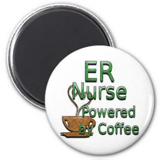 ER Nurse Powered By Coffee Magnet