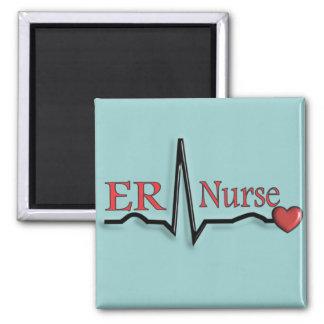 ER Nurse QRS Design Magnet