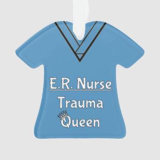 ER Nurse Scrubs Ornament