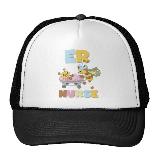 ER Nurse T-shirts and Gifts Trucker Hat