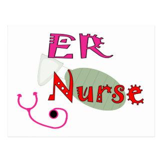 ER Nurse T-shirts & Gifts Postcard