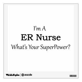 ER Nurse Wall Sticker