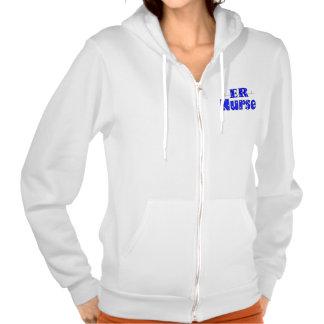 ER Nurse Zip Hoodie