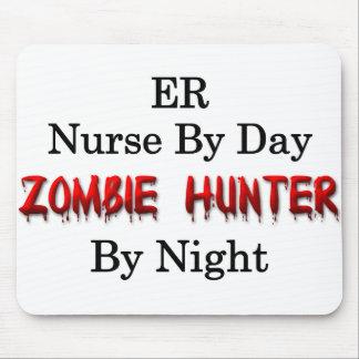 ER Nurse/Zombie Hunter Mouse Pad