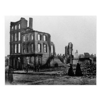 Era 1865 de la guerra civil del de Richmond Vir Tarjetas Postales