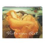 Era 2016 del Victorian y arte del Pre-Raphaelite Calendario De Pared