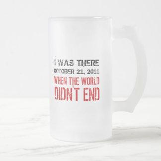 Era allí cuando el mundo no terminó la taza helada
