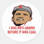 Era Anti-Obama antes de que fuera fresco Etiquetas