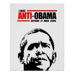 Era Anti-Obama antes de que fuera fresco Posters