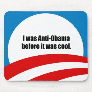 Era Anti-Obama antes de que fuera fresco Alfombrilla De Raton