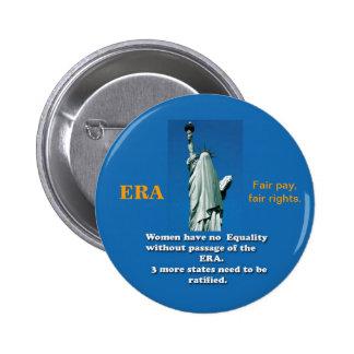 ERA button, Equal Rights Amendment for all. Button