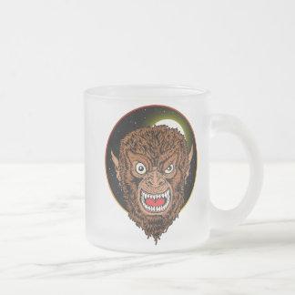 Era el lobo taza de cristal