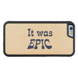 Era épico funda de iPhone 6 bumper arce