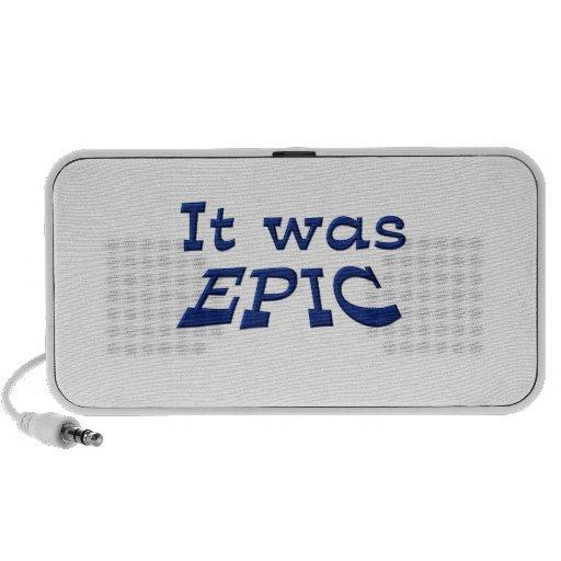 Era épico laptop altavoz