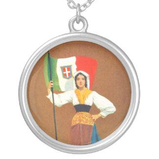 Era italiana de la Primera Guerra Mundial del orgu Collares Personalizados
