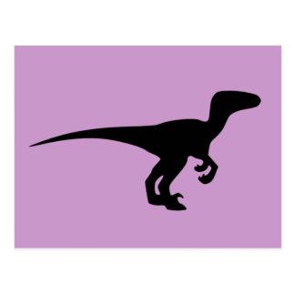 Era jurásica del esquema del dinosaurio postal