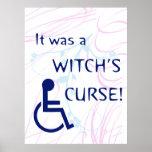 Era la maldición de una bruja: Incapacidad Posters