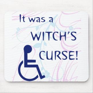 Era la maldición de una bruja Incapacidad Tapete De Ratones