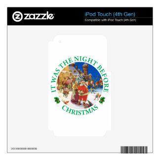 Era la noche antes de navidad iPod touch 4G skins