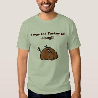 ¡Era la Turquía toda adelante!!! Playera