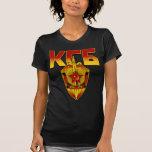 Era rusa del soviet de la insignia de KGB Camisetas