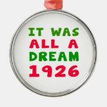 Era todo el un 1926 ideal ornaments para arbol de navidad