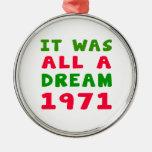Era todo el un 1971 ideal adornos de navidad