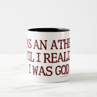 Era un ateo taza dos tonos