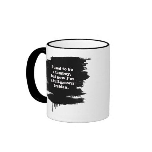 Era una marimacho tazas de café