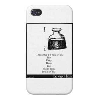 Era una vez una botella de tinta iPhone 4 protectores