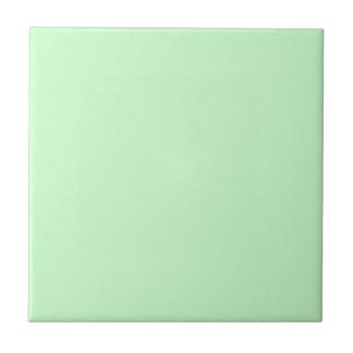 Era verde de los mediados de siglo de Seafoam de l Azulejo Cuadrado Pequeño