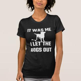 Era yo que dejé los perros hacia fuera playera