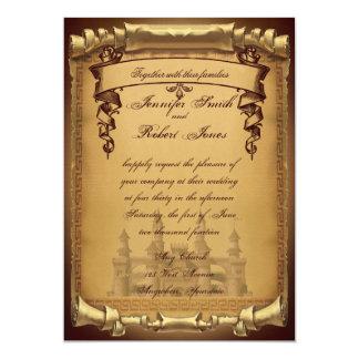 Érase una vez casar la invitación invitación 12,7 x 17,8 cm
