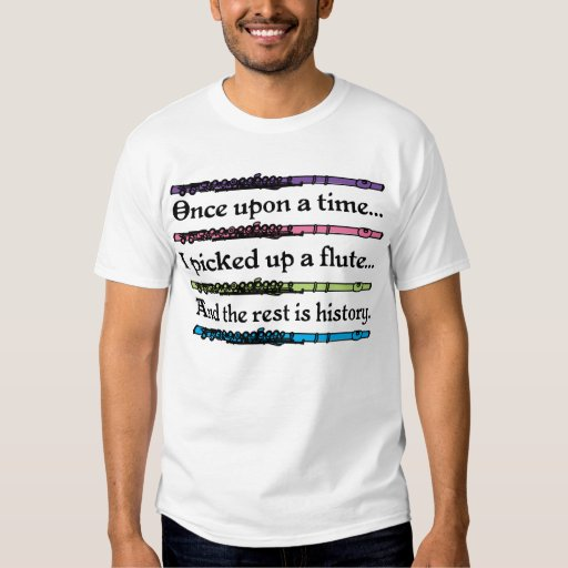 Érase una vez flauta linda camisas