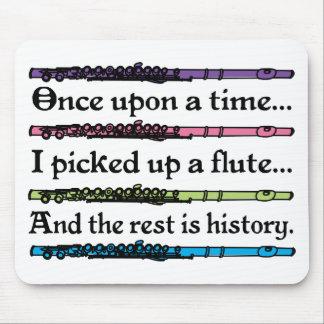 Érase una vez flauta linda tapete de ratón