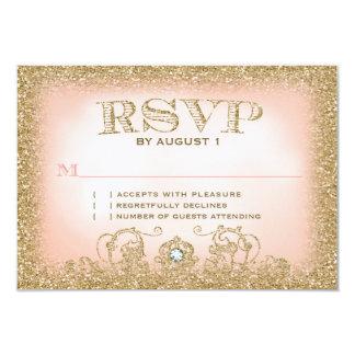 """Érase una vez RSVP Invitación 3.5"""" X 5"""""""