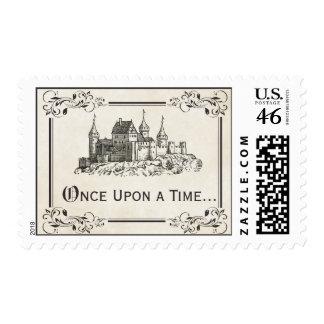 Érase una vez sellos del castillo del cuento de ha