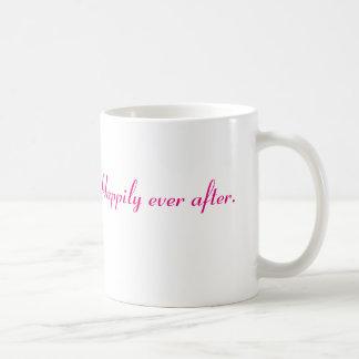 Érase una vez taza básica blanca