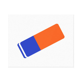 Eraser Canvas Print