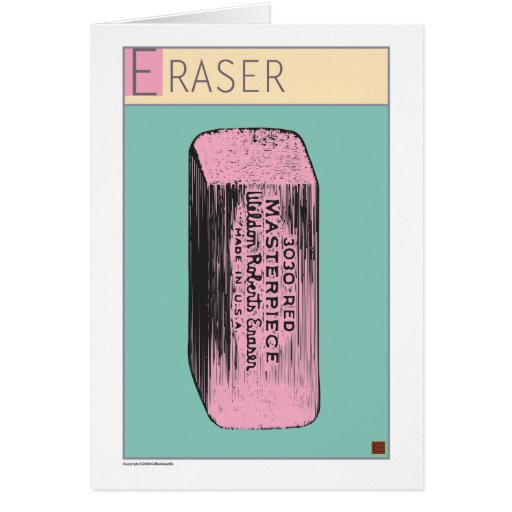 Eraser-Card