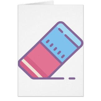 Eraser Card