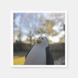 Eraser Penguin Paper Napkins