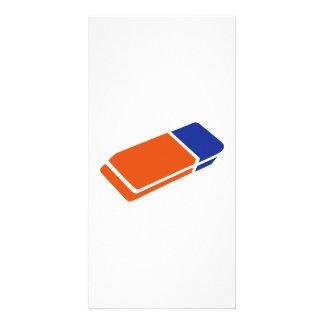 Eraser Customized Photo Card