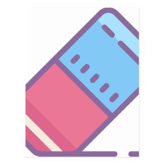 Eraser Postcard
