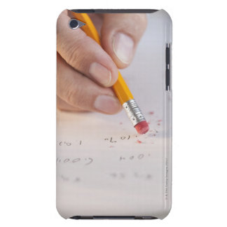 Erasing incorrect numbers Case-Mate iPod touch case