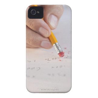 Erasing incorrect numbers iPhone 4 case