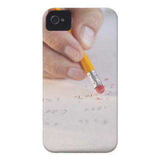 Erasing incorrect numbers iPhone 4 cover
