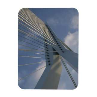 Erasmus Bridge, Rotterdam Rectangular Photo Magnet