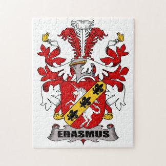 Erasmus Family Crest Jigsaw Puzzle